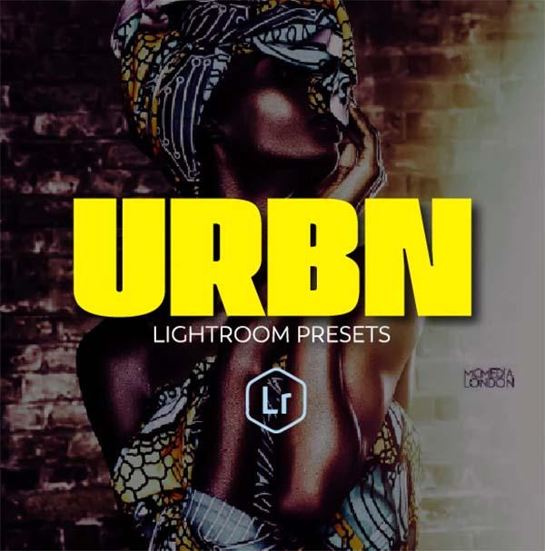 Urbn Portrait PSD Lightroom Presets
