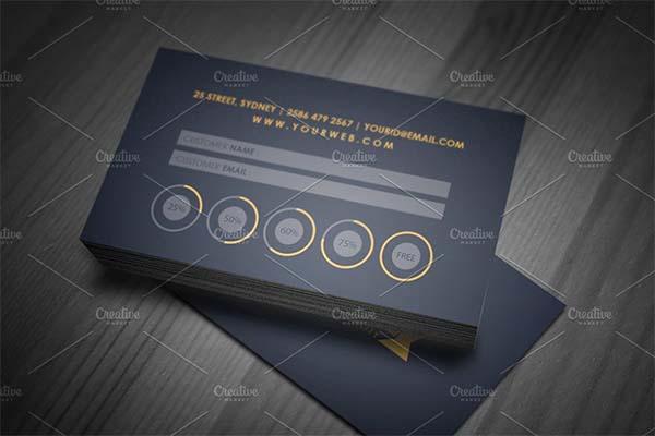 VIP Loyalty Card Templates