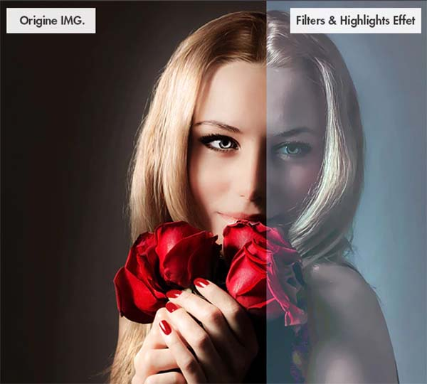 10 Photoshop Actions Set Template