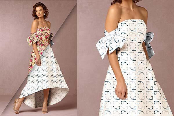 12 Women's Dress Mockup