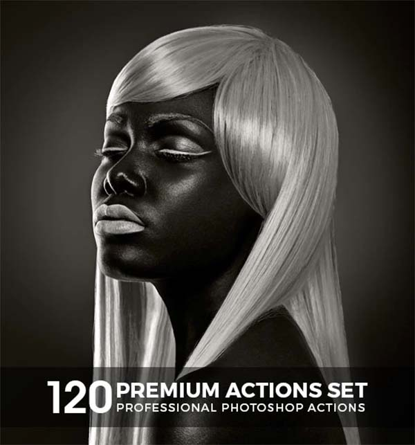 120 Premium Photoshop Design Actions