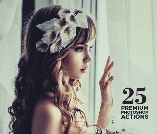 25 Photoshop Actions Premium Set