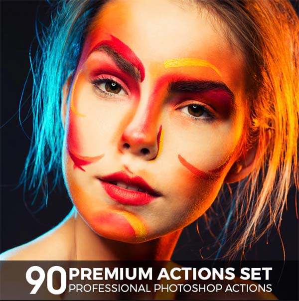 90 Photoshop Actions Premium Set