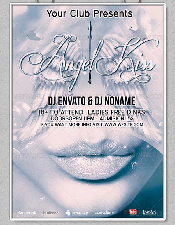 Angel Kiss Flyer