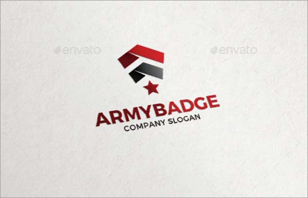 Army Badge Military Soldier Logo