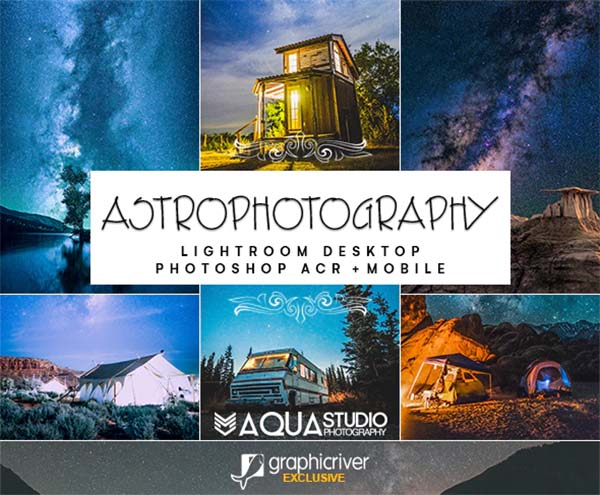 Astrophotography Lightroom Desktop