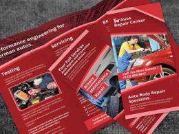 Automobile Brochure Templates