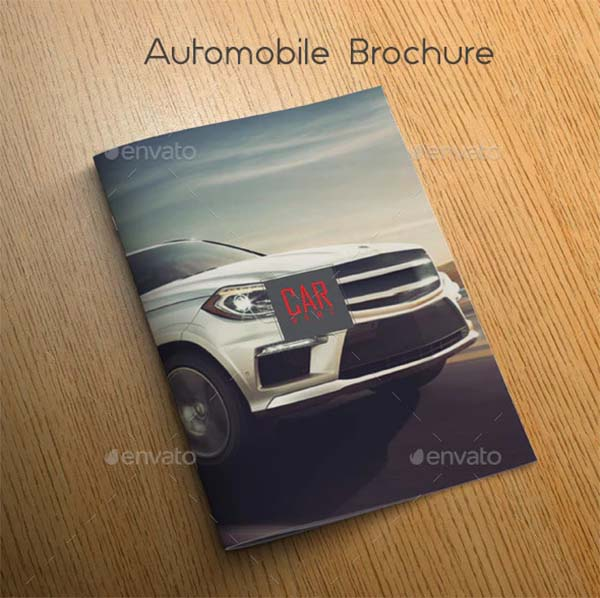 Automobile Brochure