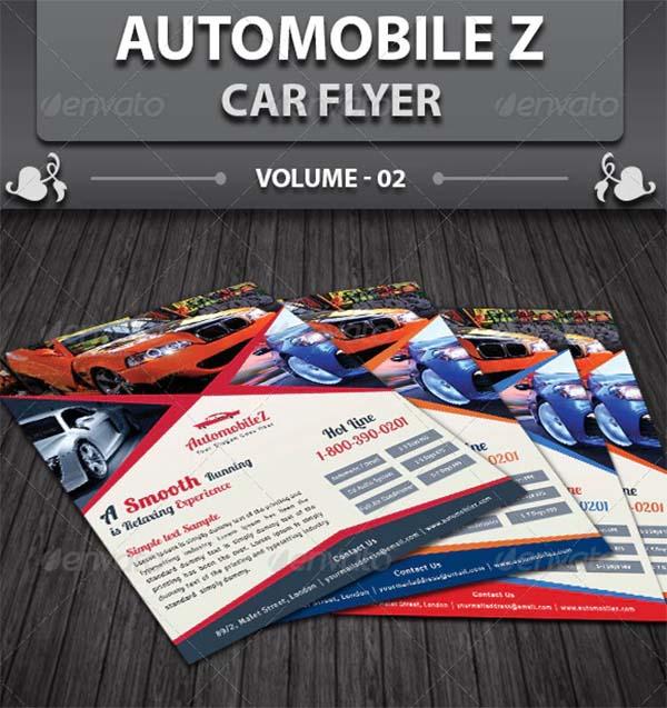 Automobile Business Car Flyer