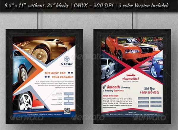 Automobile Business Flyer Bundle