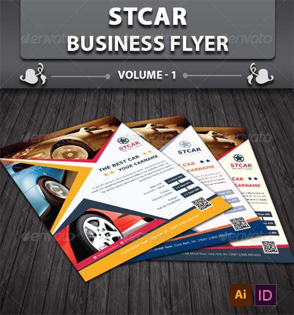 Automobile Business Flyer Design