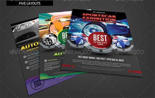 Automobile Business Flyer Template