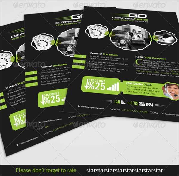 Automobile Business PSD Flyer