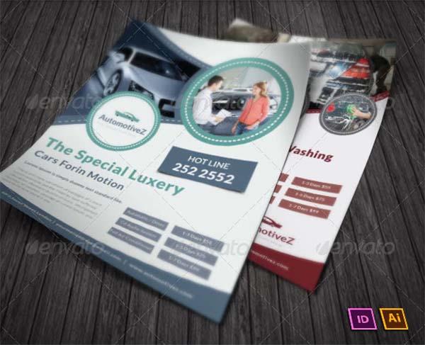 Automobile Business Promotion Flyer
