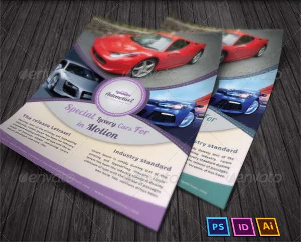 Automobile Classic Business Flyer
