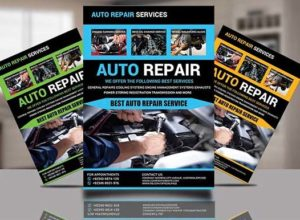 Automobile Flyer Templates