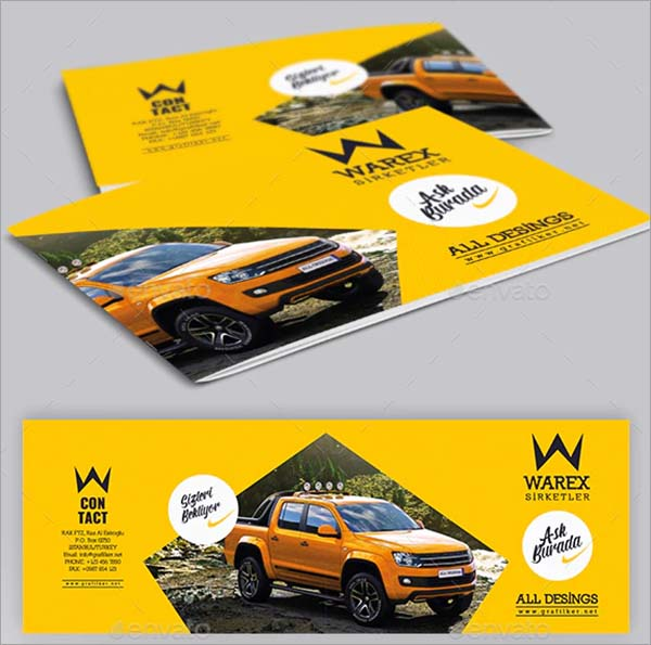 Automobile Brochure Templates