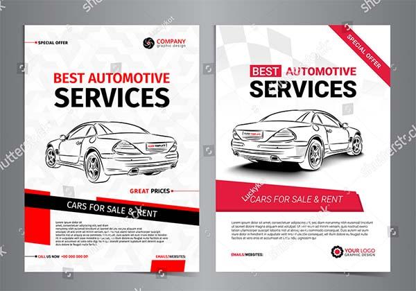 Automotive Services Layout Templates