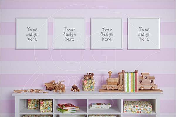 Baby Room Mockups Set