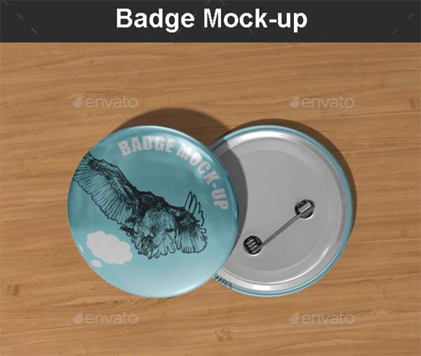 Badge Mock-up Design
