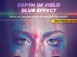 Blur Photoshop Actions