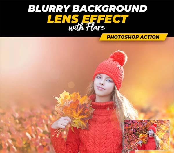 Blurry Background Photoshop Action