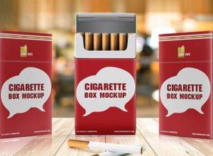 Cigarette Mockups