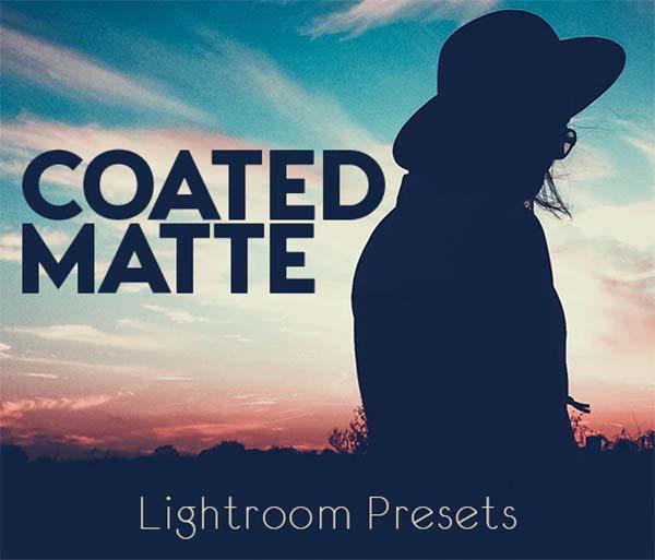 Coated Matte Lightroom Presets
