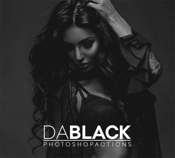 Dablack Pro Set Photoshop Actions