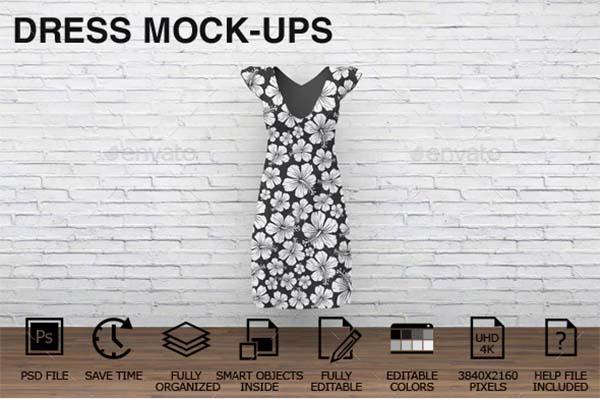 Dress Clothing Mockups