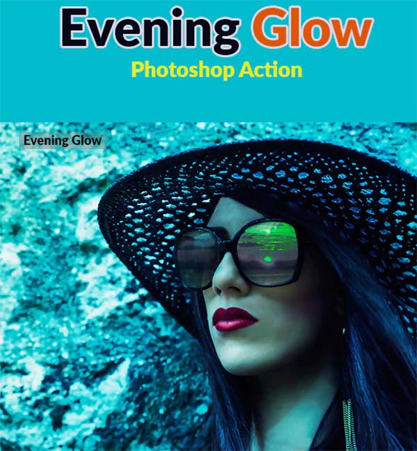 Evening Glow Photoshop Actions