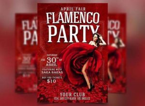 Flamenco Flyer Templates