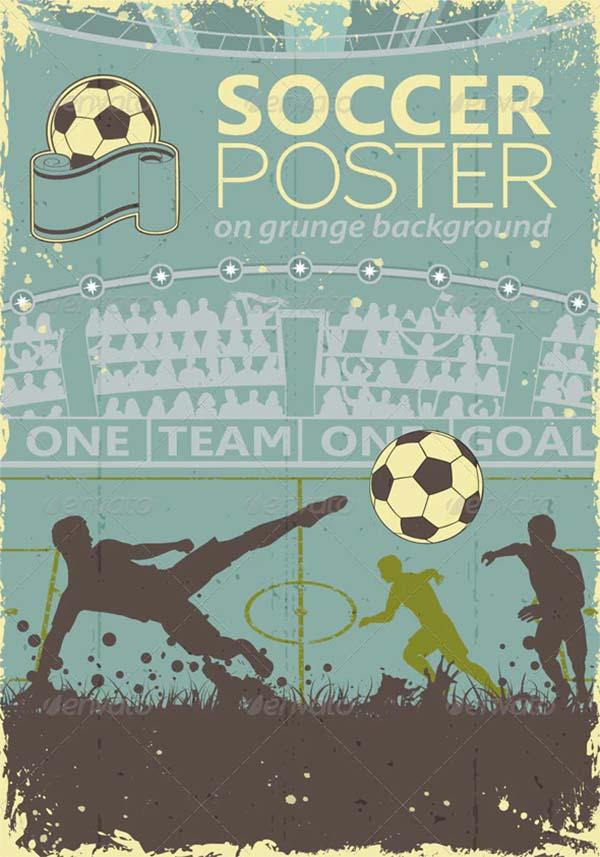 Football Soccer Poster Design