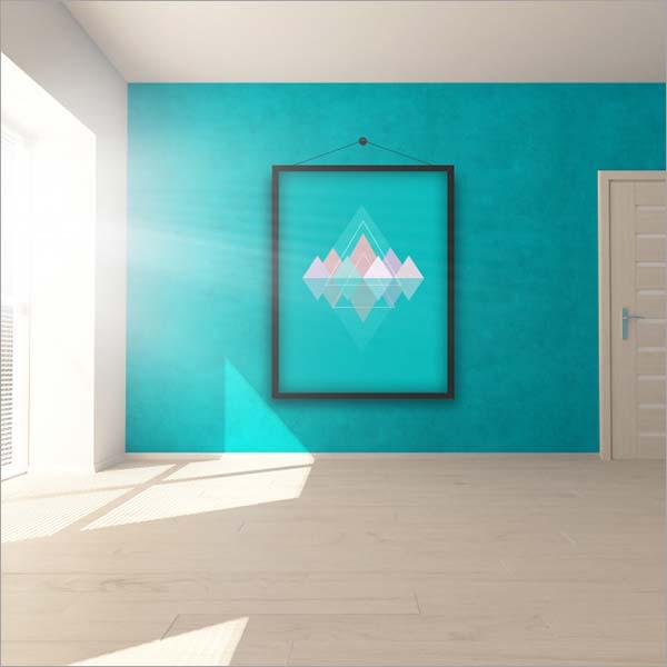 Free Editable Room Interior Mock