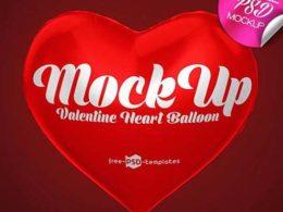 Free Heart Mockups