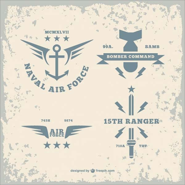 Free Military Logo Vector Designs