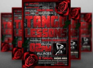 Free Tango Flyer Templates