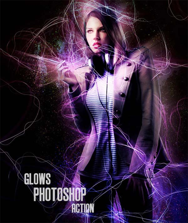 Glow Photoshop Action