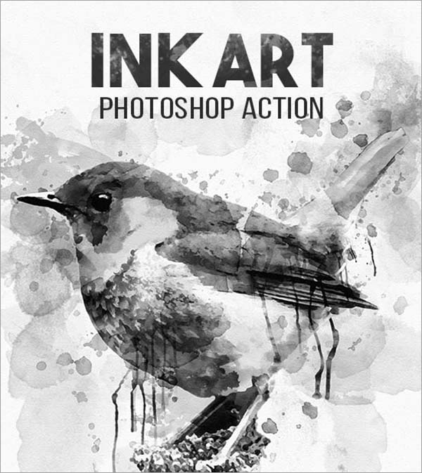 Ink Art PSD Action