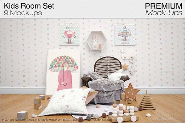 Kids Room Mockup Pack