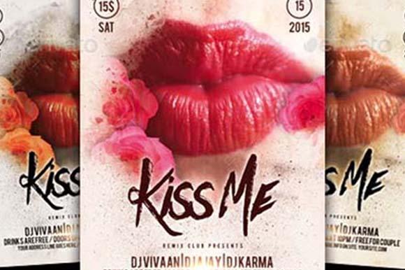 Kiss Flyer Templates