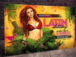 Latin Flyer Templates