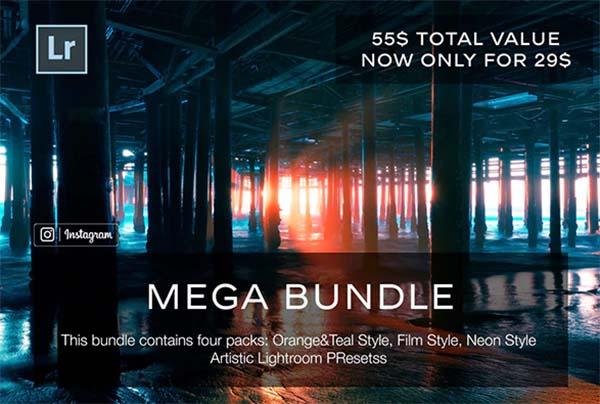 Mega Bundle Lightroom PSD Presets
