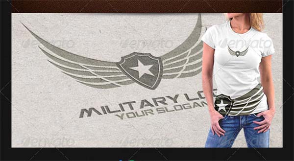 Military CDR Logo Design