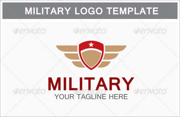 Military PSD Logo Design