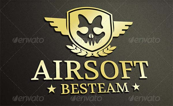 Military Team Logo Design