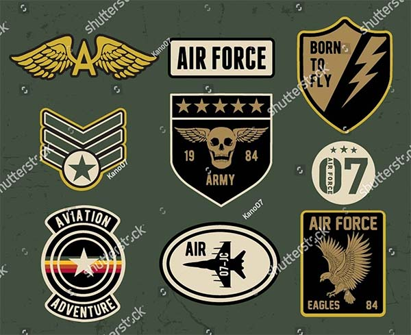Military and Army Vector Logos