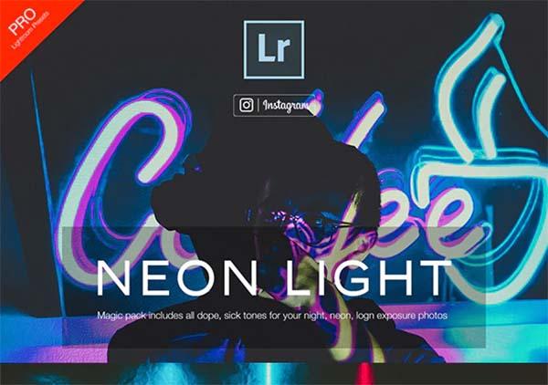 Neon Lightroom Presets