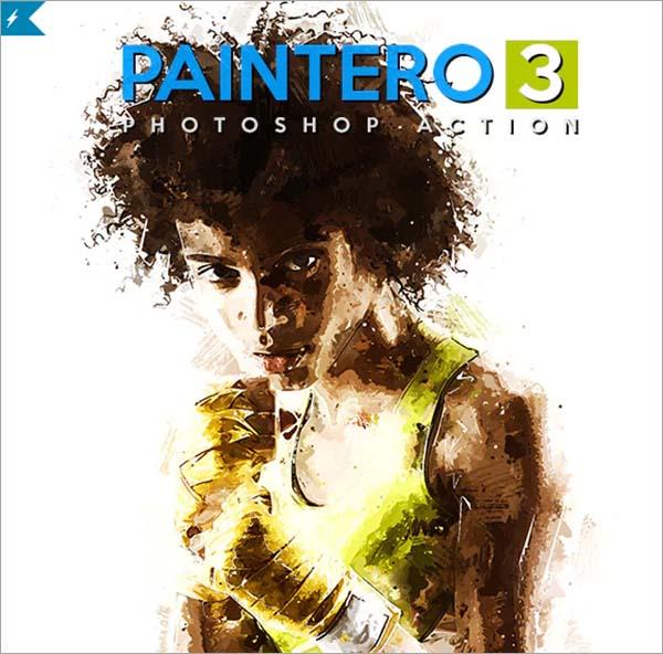 Paintero 3 Photoshop Action