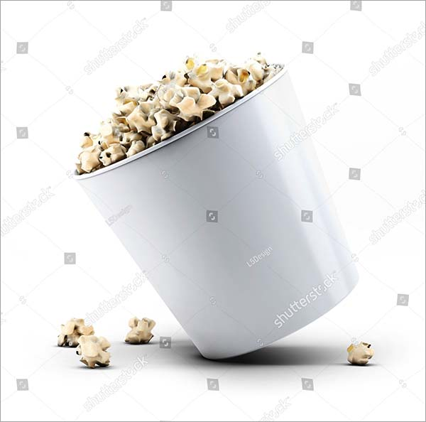 Popcorn Bucket Mock-Up